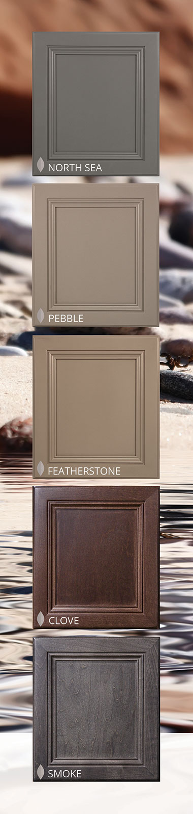 Woodmont Cabinetry 5 New Color Finishes
