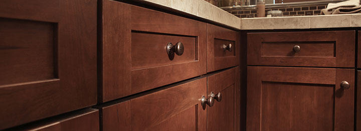 Woodmont Cabinetry beautiful wood stain finishes