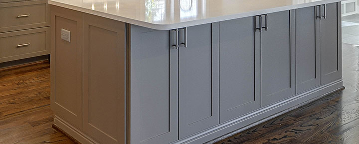 Woodmont Cabinetry solid paint finishes