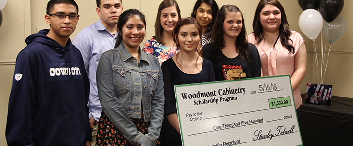 Woodmont Cabinetry scholarship recipients company culture
