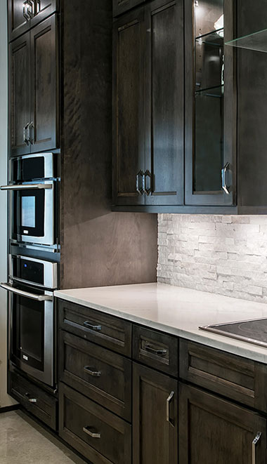 Woodmont Cabinetry finishes