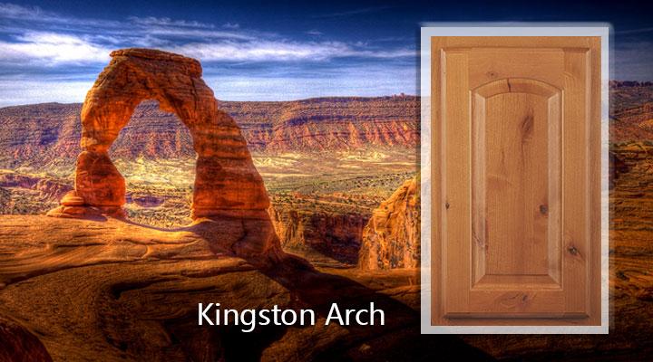 Woodmont Kingston Arch Knotty Alder