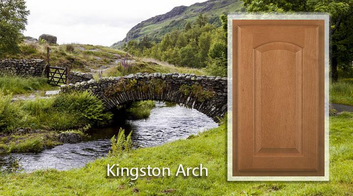 Woodmont Kingston Arch Maple