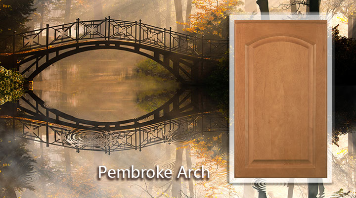 Woodmont Pembroke Arch Maple