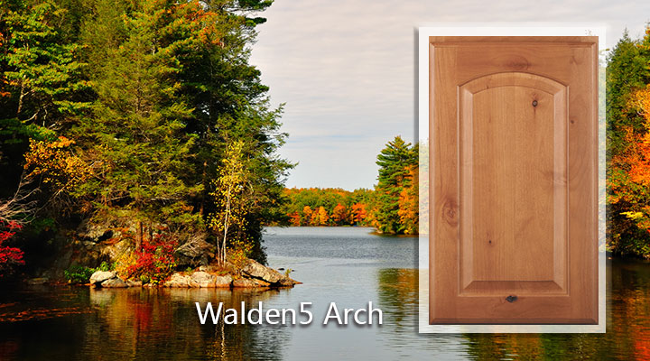 Woodmont Walden5 Arch Knotty Alder