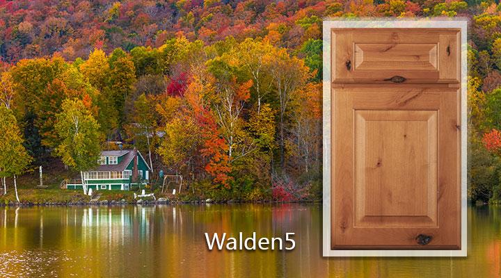 Woodmont Walden5 Knotty Alder