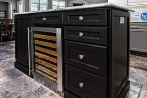 Woodmont Cabinetry kitchen island