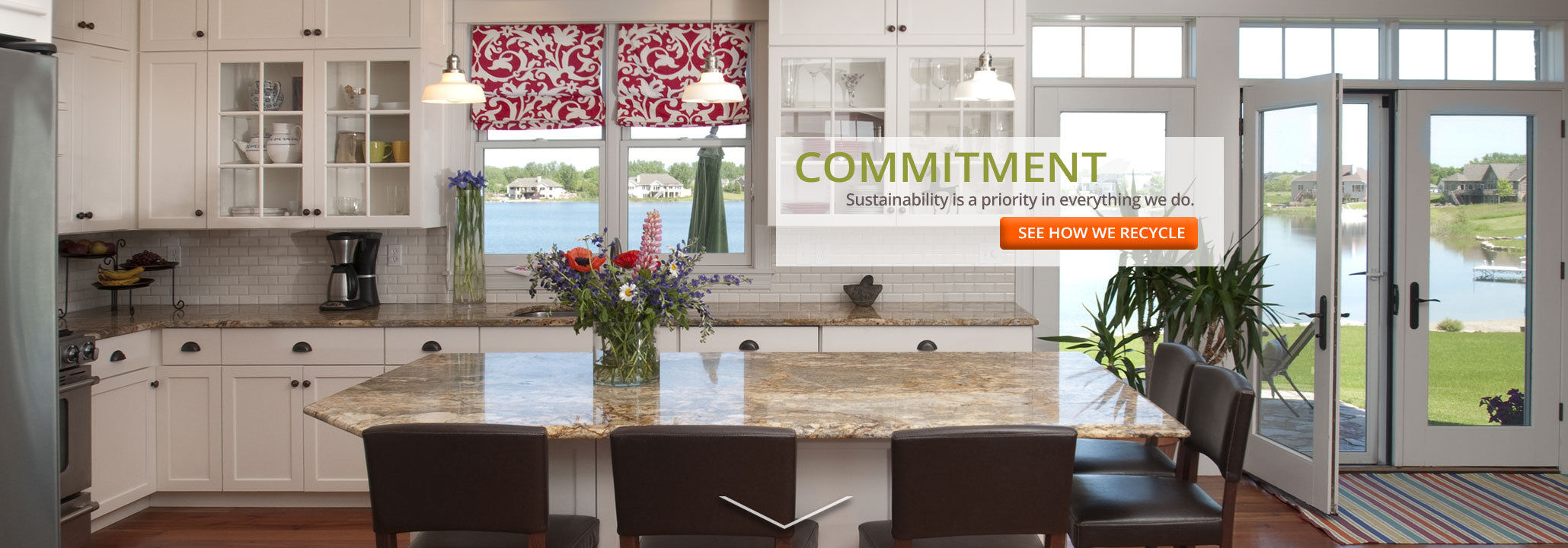 Woodmont Cabinetry commitment to sustainability
