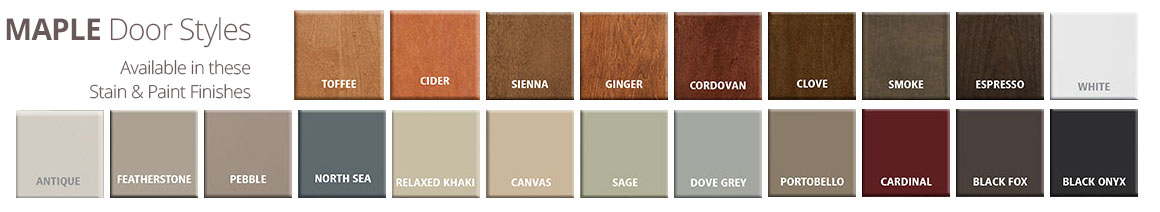 Woodmont Cabinetry Maple Stain U0026 Paint Finishes