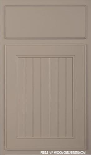 Windsor Maple Door Style in Pebble Finish