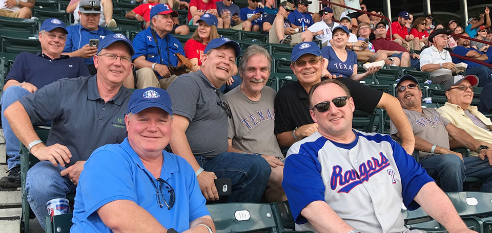 Woodmont Cabinetry Employee Day At The Texas Rangers Game