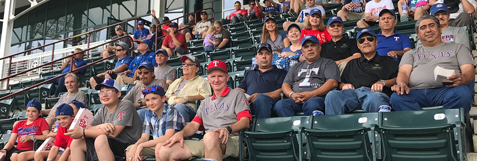 Bon Woodmont Cabinetry Employee Tenure Celebration At The Rangers Game