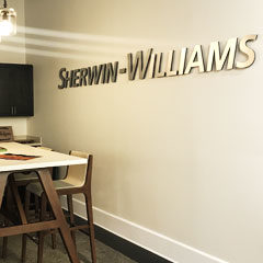 Behind The Scenes at Our Annual Sherwin-Williams Finish Review