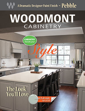 Woodmont Cabinetry Pebble Paint Finish Style Guide