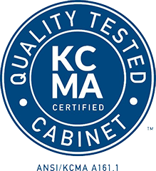 Certified Cabinet Maker with the Kitchen Cabinet Manufacturers Association