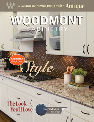 Woodmont Cabinetry Antique Finish Style Guide