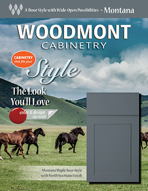 Woodmont Cabinetry Montana Door Style Guide