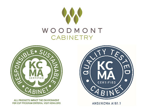 KCMA certification 2018 Woodmont Cabinetry