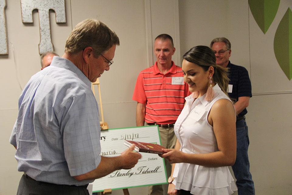 Woodmont Cabinetry Scholarship Program recipient 2018