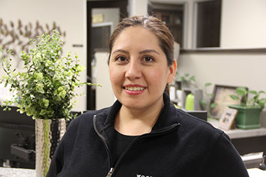Blanca Salazar, Human Resource and Safety Manager, Woodmont Cabinetry