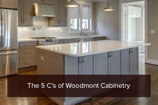 The 5 C's of Woodmont Cabinetry