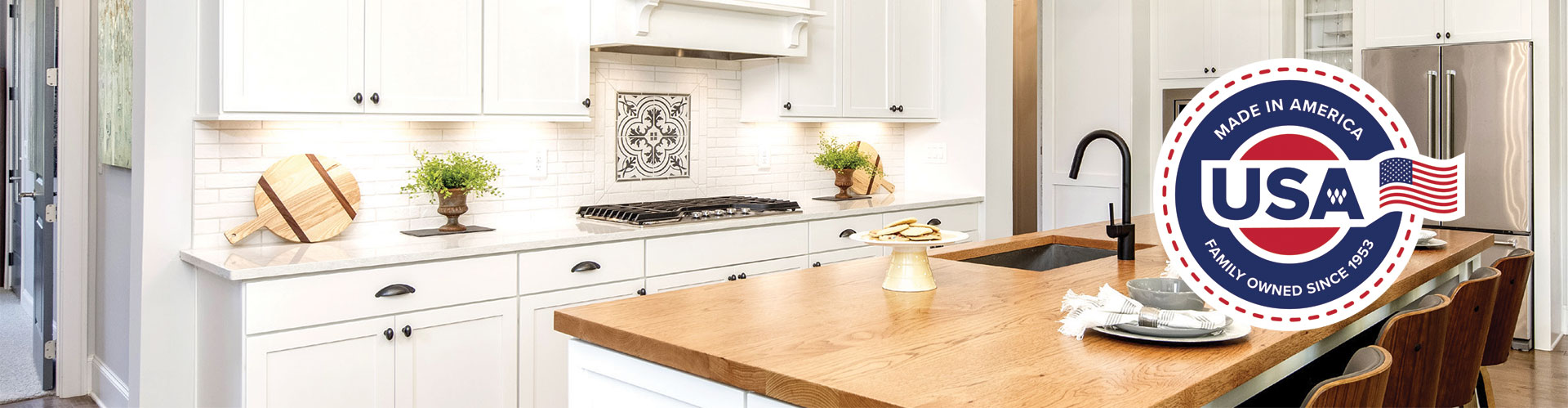 Woodmont Cabinetry Made in America
