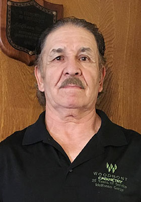 Idelfonso Garza of Woodmont Cabinetry